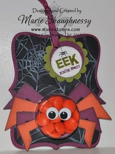 Stampin' Up!  Top Note  Marie Shaughnessy  Halloween