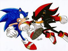Shadow vs Silver | Sonic Vs Shadow by MikeES on deviantART