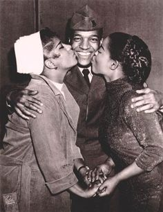 Ruth Brown, Clyde McPhatter & LaVern Baker.
