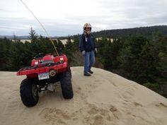 Riding the Oregon coast dunes on our Pacific coast RV trip