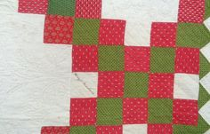 rags 1850-60's FAB. QUILTING HUGE FRIENDSHIP QUILT , TONS OF NAMES GREAT COLOR