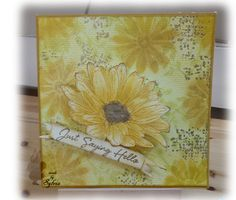 Made with Panpastels, Impression Obsesion stamps and step-by-step pictures