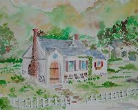 How to draw a country cottage is an easy art lesson and work sheet for young artist or beginner artist. You can see it at http://drawinglessonsfortheyoungartist.blogspot.com/2011/10/how-to-draw-country-cottage.html