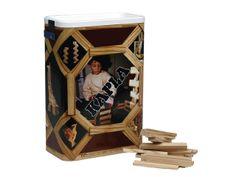 Kapla groepsset kartonnen ton met 200 onderdelen http://www.kgrolf.nl/product/1320/3012100_16929_1620_252_30/kapla-groepsset-kartonnen-ton-met-200-onderdelen.aspx