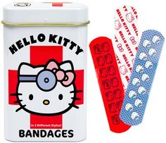 Fancy - Hello Kitty Bandages : Unique Gifts: Mustache, Cupcake, Bacon, Star Wars, Geek & Funny Gift Ideas