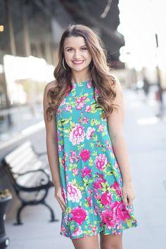 Pink Wildflower Dress