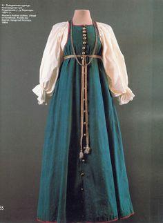 "Из книги ""Русский народный костюм"" Mom Costumes, Princess Costumes, Folk Costume, Mermaid Costumes, Couple Costumes, Pirate Costumes, Group Costumes, Adult Costumes, Halloween Costumes"