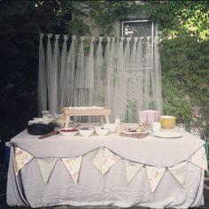 Backyard Bridal Shower