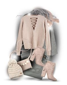 """She Loves to be Cozy in Pink"" by rockreborn ❤ liked on Polyvore featuring MANGO, Brunello Cucinelli, Diesel, C.C and Kendall + Kylie"