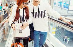 cute! #ulzzang #couple