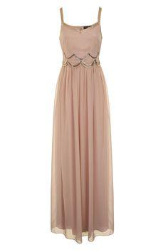 Little Mistress Mink Embellished Maxi Dress £80 shop Here> www.retailtherapyfashion.com
