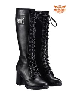 Truffle UK 4 Womens Black Faux Fur Lined Knee High Quilted Warm Brand New Boots