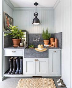 The Way We Live Now: The Mudroom — Beth Lindsey Interior Design Küchen Design, House Design, Interior Design, Laundry Room Inspiration, Best Decor, Laundry Room Design, Laundry Rooms, Laundry Closet, Small Laundry