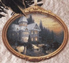Hallmark Keepsake Ornament  Victorian Christmas 1st in Series by Thomas Kinkade Painter of Light 1997 QXI6135 ** Continue to the product at the image link.