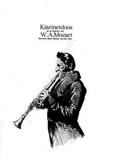 Free sheet music : Mozart, Wolfgang Amadeus - Mozart-Opera duetten (2 Clarinets (Duet)) Download Sheet Music, Free Sheet Music, Art Quotes, Tattoo Quotes, Clarinet Sheet Music, Clarinets, Wale, Trumpets, Celebrity Travel