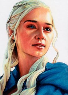 Game of Thrones - Daenerys Targaryen by Trev Murphy