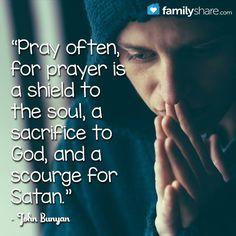 John Bunyan prayer