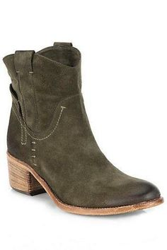 Alberto Fermani  Volo Suede Ankle Boots || at SAKS