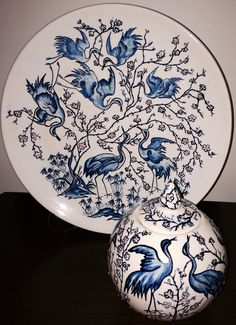 Çini Clay Plates, Ceramic Plates, Ceramic Painting, China Painting, Batik Art, Glass Ceramic, Ceramic Art, Turkish Art, Pottery Plates
