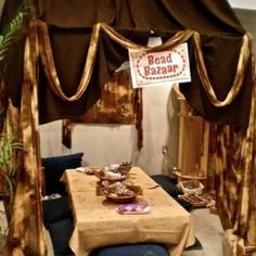 VBS Decorating Tips – Holy Land Adventure Marketplace Tents: