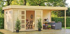 Blokhut / tuinhuisje Outdoor Life Products Olga 200 korting bijna 10%