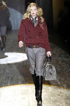Gucci Fall 2007 Ready-to-Wear Fashion Show - Lily Donaldson