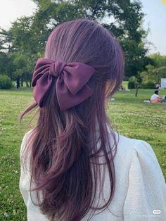 Casual Hairstyles, Elegant Hairstyles, Hairstyle Ideas, Long Length Hair, Korean Eye Makeup, Dream Hair, Bts Jimin, Hair Inspo, Hair Lengths