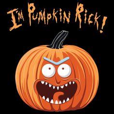 Rick and Morty x Pumpkin Rick, Halloween