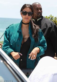 And the real ones: Kim and Kanye stepped out for a Memorial Day lunch with John Legend and...