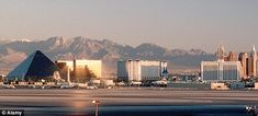 """""""When landing at dusk or early evening, you get an amazing view of all the casinos."""" McCarran Airport in Las Vegas, NV is nominated for Best Airport Approach 2015. Vote for yours now! #RunwayViews #LasVegas #Airport #Aviation"""