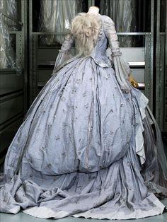 """Marie-Antoinette"" dress, grey polyester tulle, Olivier Theyskens for Rochas, ghostly dress inspired by ""Marie-Antoinette"" movie (S. Coppola), 2006"