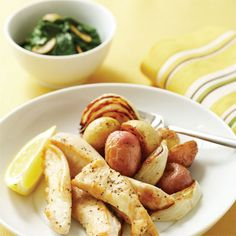 Mary Jane Medlock's Chicken Tenders With Roasted Potatoes