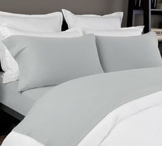 Promising You A Comfy Sleep Non Wrinkly Cozy Organic Cotton Jersey Sheet Set Grey Ed Queen