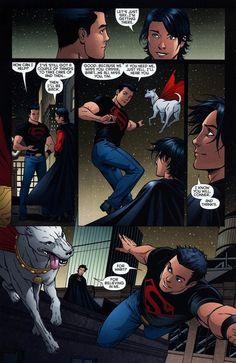 Superboy (Kon-El/Conner Kent) & Robin/Red Robin (Tim Drake)