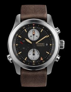 """Bremont ALT1-ZT/51 GMT Chronograph Watch - by James Stacey - just announced, see all about it on aBlogtoWatch.com """"What do you get when you cross Bremont's relatively new ALT1-ZT with the warm vintage tones of their highly-desirable P-51 LE? The new Bremont ALT1-ZT/51 GMT Chronograph. The ALT1-ZT was announced at Baselworld 2015 and served as a rethinking of Bremont's original military GMT chronograph, the ALT1-Z of 2007..."""""""