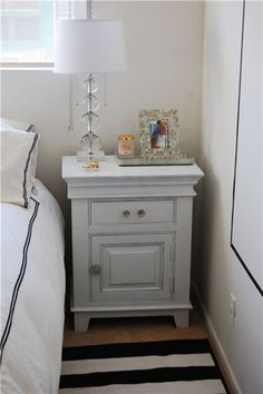 Before and After: Nightstands | Cupcakes & Cashmere