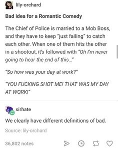 i'm crying i read this as 'the police chief is married to bob ross' and the rest rEALLY confused me Creative Writing Prompts, Book Writing Tips, Writing Help, Writing Ideas, Romantic Writing Prompts, Creative Writing Inspiration, Writing Humor, Picture Writing Prompts, Otp Prompts