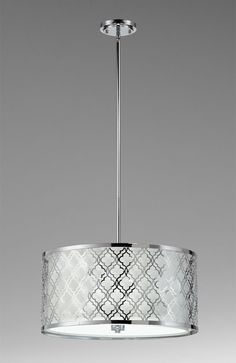 chandelier  quatrafoil drum from Cyan Design