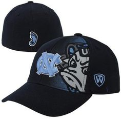 ebae4e0d83a Top of the World North Carolina Tar Heels (UNC) Youth Midfielder 1Fit Flex  Hat