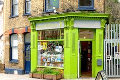 Herne Hill Books, Brixton, London. http://suitcasemag.com/2014/04/29/city-guide-brixton-south-london/