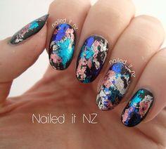 ... nail foils? That's interesting.