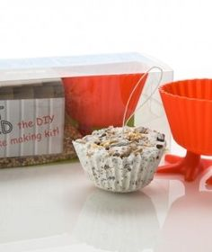 Fat Birts - Fat cake making kit for birds (uses leftover fat from cooking which would otherwise be discarded).