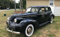 It appears that the next owner of this 1939 Buick Special is going to have little to do except to climb into the car and enjoy the driving experience. It isn't perfect, but it is pretty close, and it. Vintage Auto, Vintage Cars, Antique Cars, Buick Sedan, Sedans, New Tyres, Interior Trim, Us Cars, Barn Finds