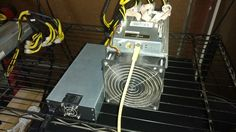 """Item specifics   Seller Notes: """"Used and in good condition.""""       Brand:   Bitmain    Mining Hardware:   ASIC     Model:   Antminer S7-F1    Hash Algorithm:   SHA-256     Compatible Currency:  ..."""