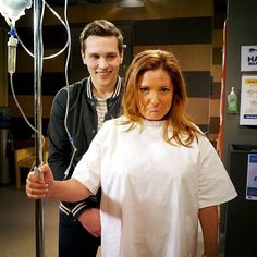 Poor Terese! Try and get a smile on her face Josh! @harleympbonner @relmaloglou #Neighbours