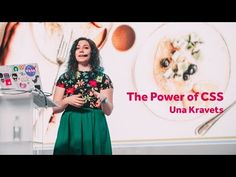 The Power of CSS – Una Kravets / Front-Trends 2017 - YouTube