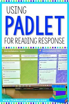 Are you looking to go paperless with your reading response notebooks? Padlet is … Are you looking to go paperless with your reading response notebooks? Padlet is an AMAZING digital tool that makes it engaging for readers to respond to… Continue Reading → 6th Grade Reading, 6th Grade Ela, Third Grade, Fourth Grade, Reading Response Notebook, Reading Notebooks, Teaching Reading, Reading Response Activities, Reading Strategies