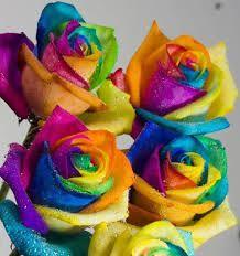 tie dye roses