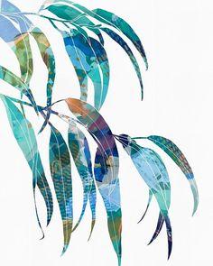 frankie b design Watercolor Flowers, Watercolor Paintings, Watercolour, Australian Art, Arte Floral, Leaf Art, Botanical Art, Painting Inspiration, Textile Art