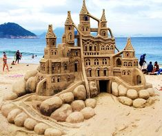 Sand Castle, Boracay, The Phillipines